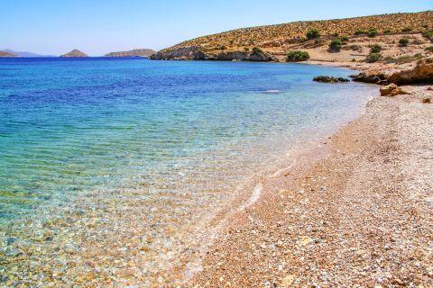 Elena: Soft pebbles and amazing waters. Elena beach.