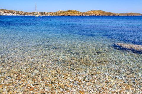 Elena: Crystal clear waters on Elena beach.