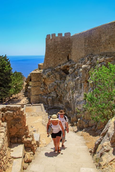 Lindos: Exploring the Acropolis of Lindos.