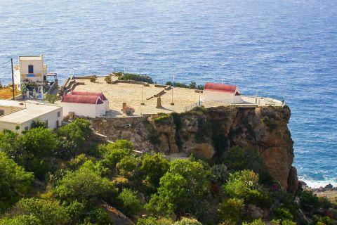 Mesochori: The fabulous location where Mesochori stands offers breathtaking sea views.