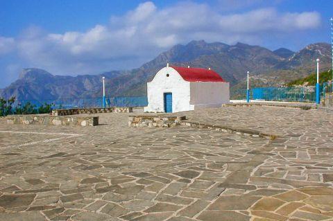 Mesochori: A local church in Mesochori village.