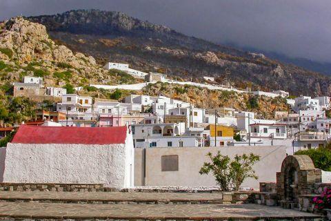 Mesochori: Mesochori village.