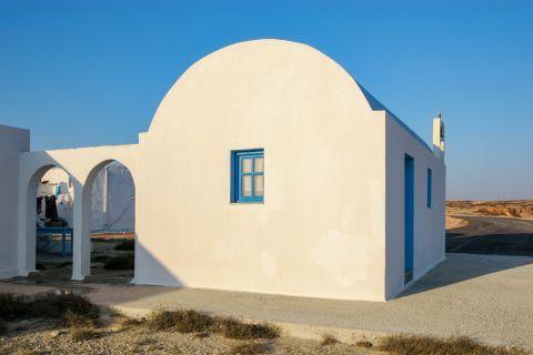 Arkassa: A local chapel.