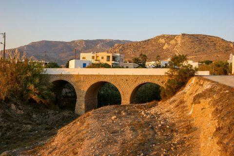 Arkassa: A bridge in Arkassa village.