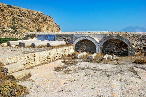 Arkassa: Ruins in Arkassa village.