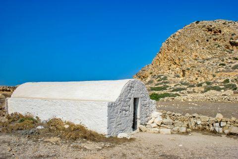 Arkassa: An old, picturesque chapel.