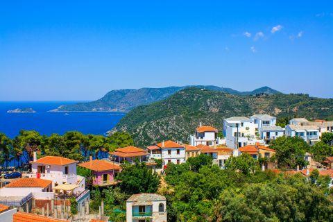 Chora: Beautiful view of Chora, Alonissos