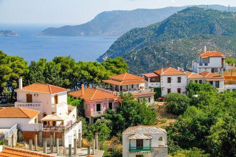 Chora: A picturesque settlement.