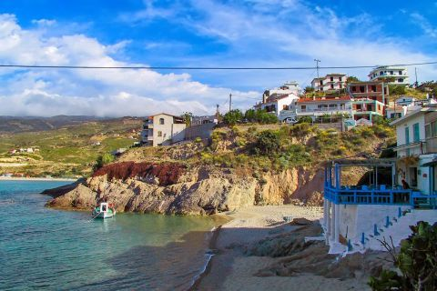 Armenistis: This lovely fishing village has become the major tourist centre of Ikaria, but is still very authentic and has managed to keep its relaxed and traditional atmosphere.