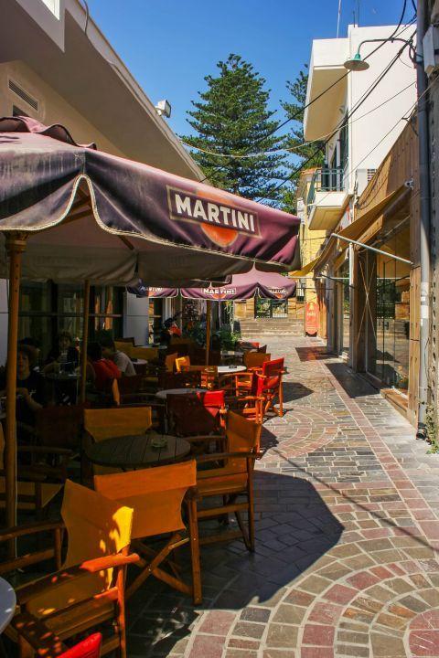 Town: Cozy cafes.