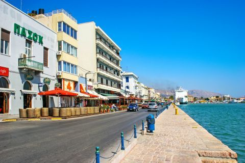 Town: At the port of Chios Town.