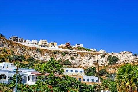 Kefalos: Houses in Kefalos village, built on a high spot.