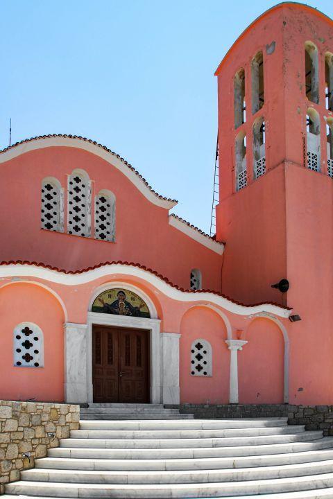 Kefalos: Isodia tis Theotokou church. (Church of the Presentation of the Holy Mother).