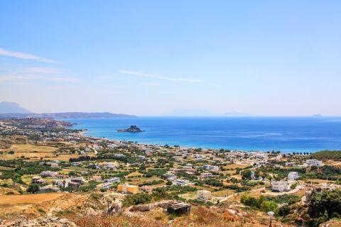 Kefalos: Panoramic view of Kefalos village.