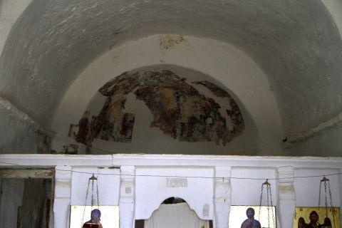 Sifones: Wall paintings in Saint Ioannis of Precursor