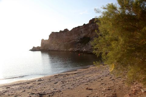 Mikra: Mikra beach