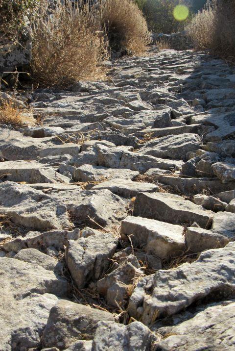 Atsipapi: Stone alleys of Atsipapi village