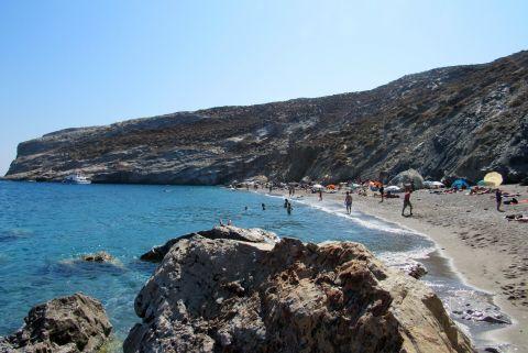 Katergo: The sandy beach