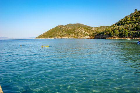 Kerveli: Relaxing sea view.