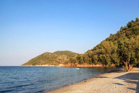 Kerveli: Trees and hills create a beautiful, natural setting.