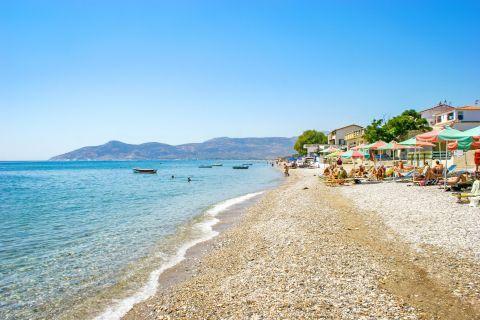 Potokaki: The beach becomes very popular in summer