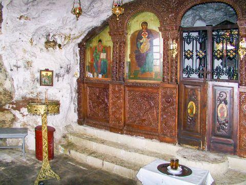 Town: At the church of Agios Spiridon.
