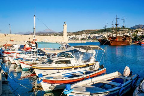 Town: Some fishing boats.
