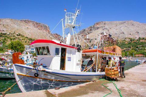 Vrondados: Local fishermen.