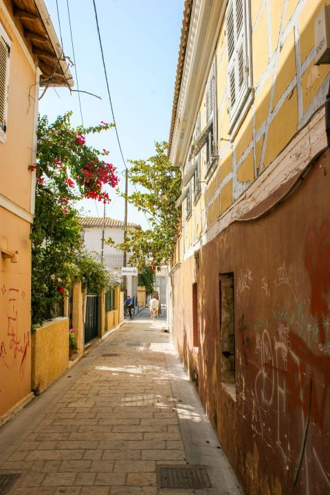Town: The narrow streets of Lefkada Town are perfect for a stroll or a bike ride.