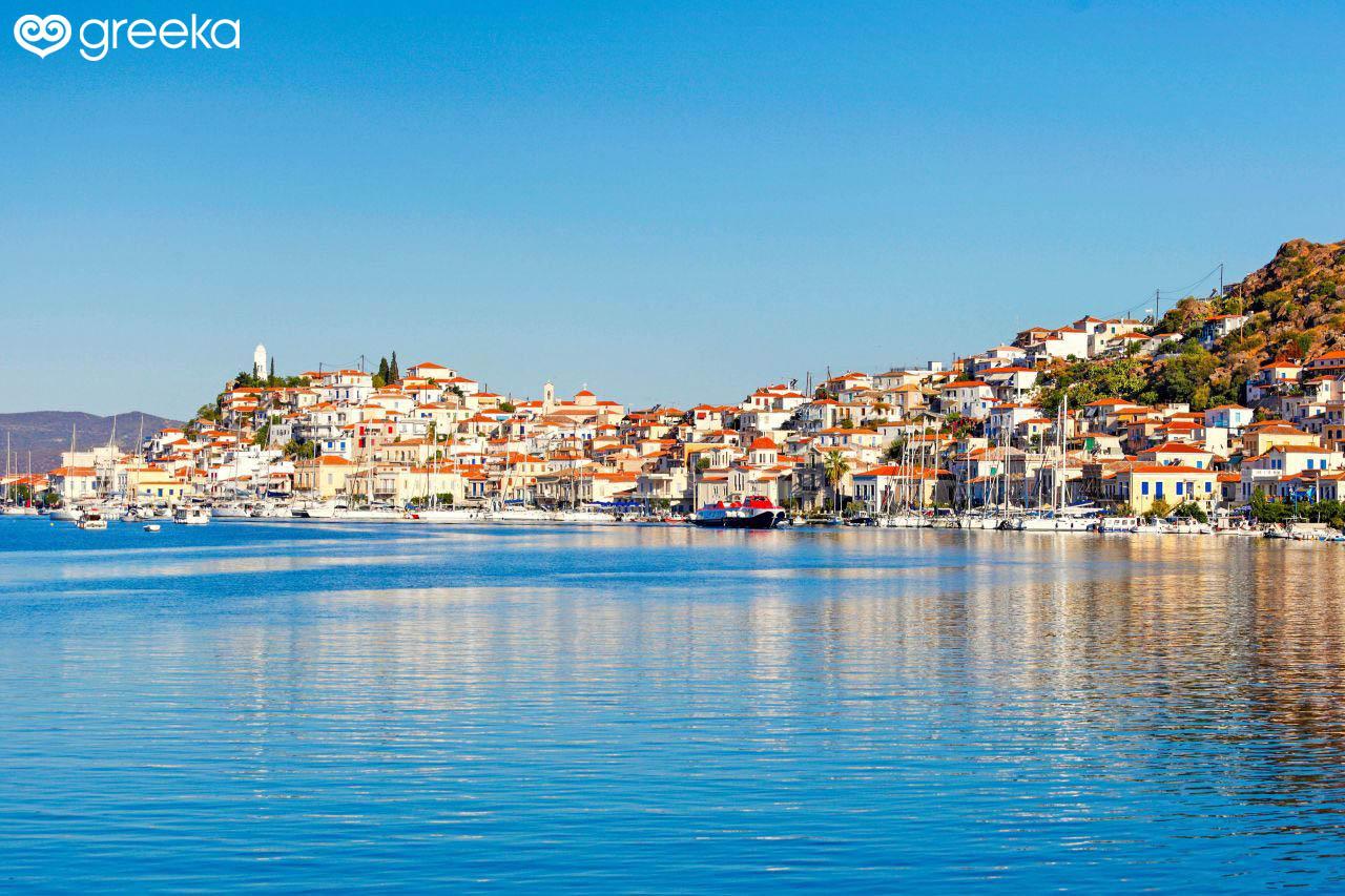 Town In Poros Villages In Poros Greeka Com