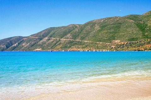 Vassiliki: Crystal clear waters and tranquil natural surroundings.