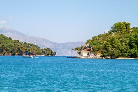 Nidri: Amazing sea view.
