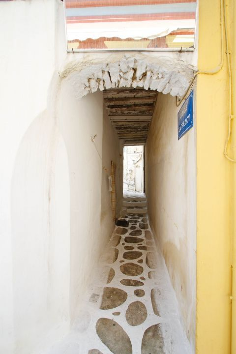 A narrow archway.