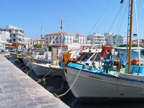 Town: Fishing boats