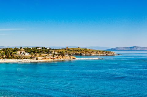 Agia Marina: Magnificent view