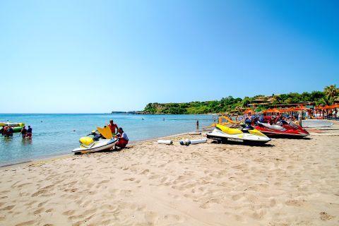 Agios Nikolaos: Choose among various water sports.