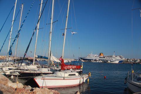 Rafina: Sailing boats at Rafina port