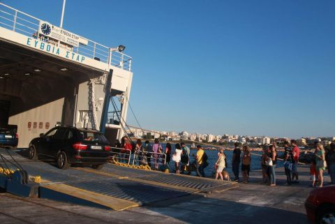 Rafina: At Rafina port