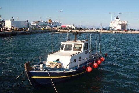 Rafina: A fishing boat