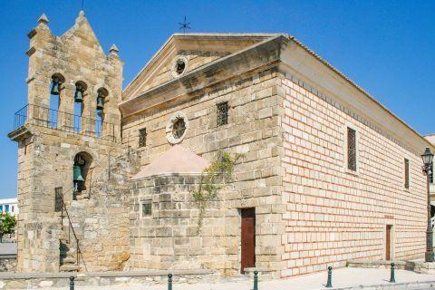 Town: The Church Agios Nikolaos of Molos.