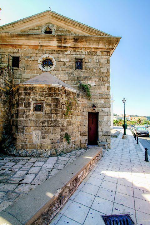 Town: The church of Agiou Nikolaou (Molou).