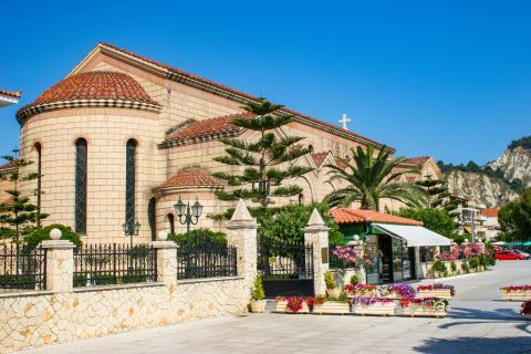 Town: Saint Dionysius church is one of the most interestig sights in Zakynthos Town.