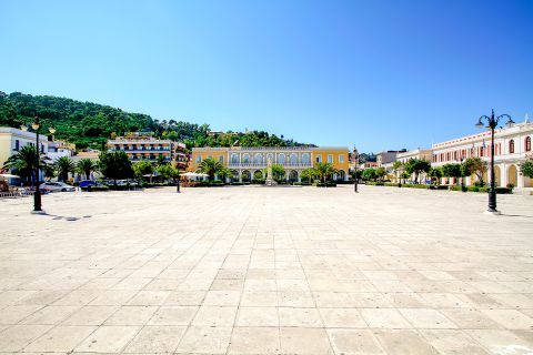 Town: Big, central square.
