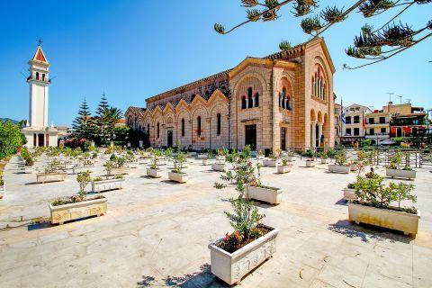 Town: Saint Dionysius church. Well-preserved premises.