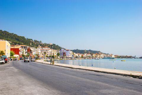 Town: Seaside promenade.