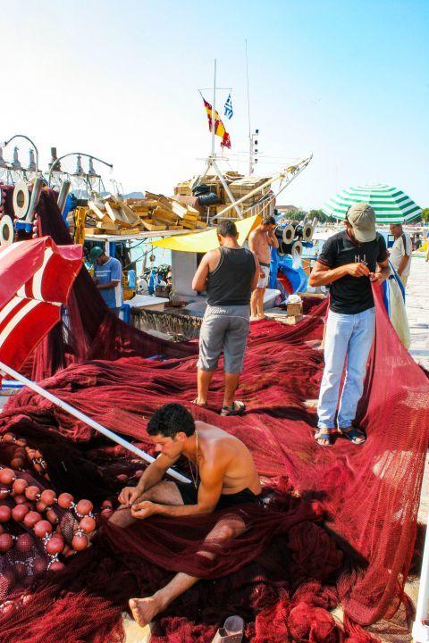 Town: Local fishermen.