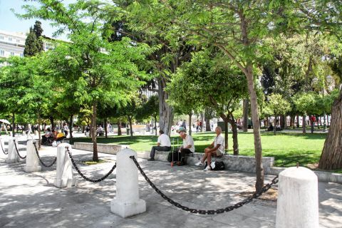 Syntagma: At Syntagma square