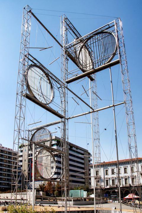Omonia: An art installation in Omonia square
