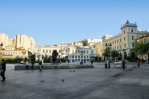 Omonia: Kotzia square