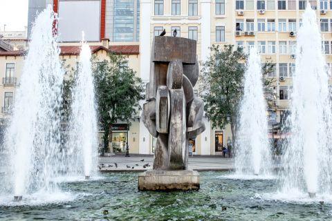 Omonia: The fountain of Kotzia square